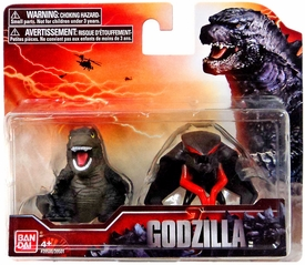 Godzilla 2014 Movie Chibi Mini Figure 2-Pack Godzilla & Winged Monster New!
