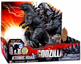 Godzilla 2014 Movie Deluxe Action Figure Atomic Roar Godzilla New Hot!