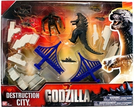 Godzilla 2014 Movie Deluxe Destruction City [Gray Buildings]