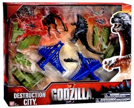 Godzilla 2014 Movie Deluxe Destruction City New!