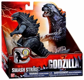 Godzilla 2014 Movie Fighting Action Figure Bite & Thrash Godzilla New!