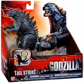 Godzilla 2014 Movie Fighting Action Figure Tail Strike Godzilla New!
