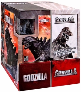 NECA Wizkids Godzilla 2014 Movie Mini Figure Series 1 Booster BOX [24 Packs]