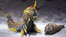 Godzilla Bandai S.H. Monsterarts Action Figure Set Mothra & Battra Larva [Godzilla vs Mothra] New!
