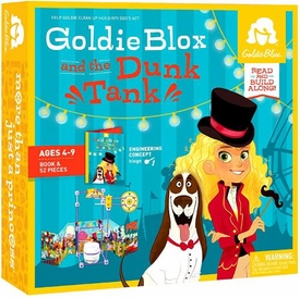 Goldie Blox Read & Build Along Goldie Blox & the Dunk Tank