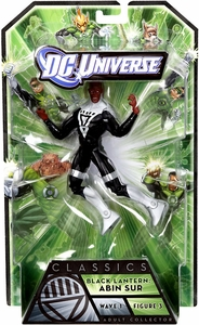 Green Lantern Classics Series 1 Action Figure Black Lantern Abin Sur [Build Arkillo Piece]