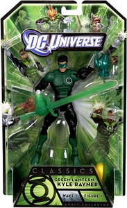 Green Lantern Classics Series 1 Action Figure Kyle Rayner [Build Arkillo Piece]