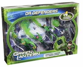 Green Lantern Movie 4 Inch Action Figure 4-Pack OA Defenders [Green Man, Sinestro, Hal Jordan & Hannu]