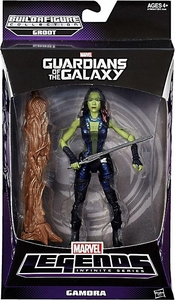 Guardians of the Galaxy Marvel Legends Action Figure Gamora [Build Groot Piece!]