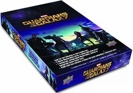 Guardians of The Galaxy Movie Upper Deck Trading Cards Hobby Box [10 Packs] New!