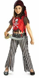 Halloween Costume Caribbean Pirate Child (Child-Medium Size) #881098