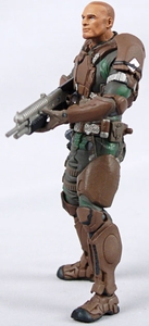 Halo 10th Anniversary McFarlane Toys LOOSE Action Figure Sgt. Forge