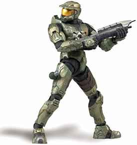 Halo 3 McFarlane Toys Series 1 Action Figure Master Chief [Green]