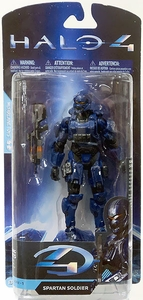 Halo 4 McFarlane Toys Exclusive Series 1 Action Figure Blue Spartan Soldier