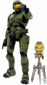 Halo McFarlane Toys LOOSE Halo 3 Master Chief [Pistol & Bubble Shield]