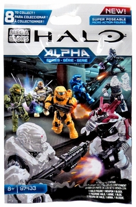 Halo Mega Bloks Alpha Minifigure Mystery Pack [1 RANDOM Mini Figure] Hot! Pre-Order ships August