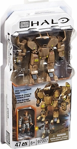 Halo Mega Bloks Set #97007 Desert Strike Cyclops [Random Package, Same Exact Contents!]