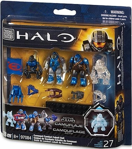 Halo Mega Bloks Set #97084 Covenant Combat Cobalt Unit [Random Style Package, Same Contents!]