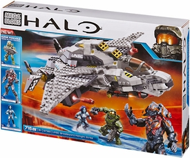 Halo Mega Bloks Set #97380 UNSC Broadsword Midnight Strike New!