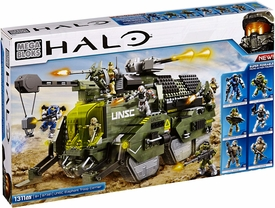Halo Mega Bloks Set #97381 UNSC Elephant Troop Carrier Pre-Order ships August