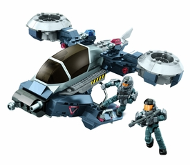 Halo Mega Bloks Set #97429 Police Air Support Hornet Pre-Order ships July