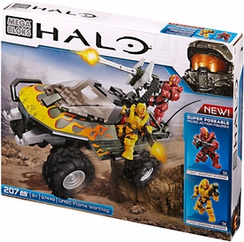 Halo Mega Bloks Set #97449 UNSC Flame Warthog New!