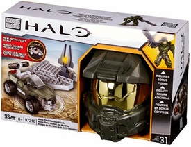 Halo Mega Bloks Set #97216 Micro Fleet Warthog Attack