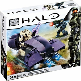 Halo Wars Mega Bloks Set #97213 Rapid Attack Covenant Ghost