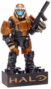 Halo Wars Mega Bloks Set #97353 Metallic ODST Drop Pod [Copper UNSC Soldier] Pre-Order ships September