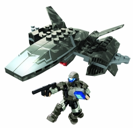 Halo Wars Mega Bloks Set #97451 UNSC Wombat Attack Pre-Order ships July