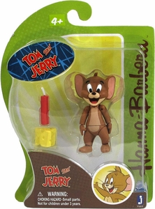 Hanna Barbera 3 Inch Figure Jerry with Dynamite & Cheese