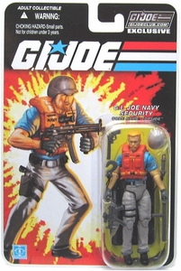 Hasbro GI Joe 2012 Subscription Exclusive Action Figure Topside [Navy Security]