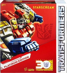 Hasbro Transformers Exclusive Platinum Edition Action Figure Supreme Starscream New!