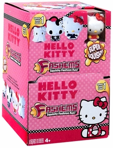 Hello Kitty Fash'ems Squishy Mini Figure Box [35 Packs] New!