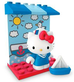 Hello Kitty Loose Mega Bloks Set #10812 Sailor