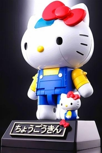 Hello Kitty Bluefin Tamashi Nations Figure Chogokin Hello Kitty Pre-Order ships August