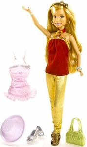 High School Musical 2 Fashion Doll Figure Sharpay [Red Shirt, Gold Pants] BLOWOUT SALE!
