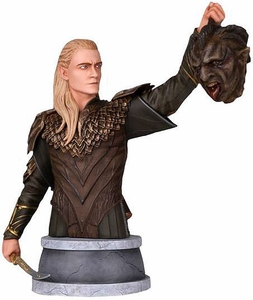 Hobbit Gentle Giant 8 Inch Legolas Mini Bust Pre-Order ships December