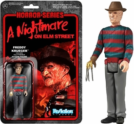 Horror Classics Funko 3.75 Inch ReAction Figure Freddy Krueger Pre-Order ships August