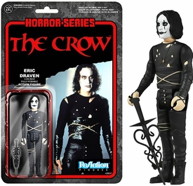 Horror Classics Funko 3.75 Inch ReAction Figure The Crow New!