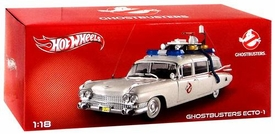 Hot Wheels 1:18 Die Cast Vehicle Ghostbusters Ecto-1