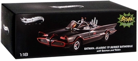 Hot Wheels Elite 1:18 Die Cast Vehicle Batman 1966 Batmobile