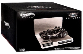 Hot Wheels Elite Dark Knight Trilogy 1:18 Die Cast Vehicle Batman Tumbler
