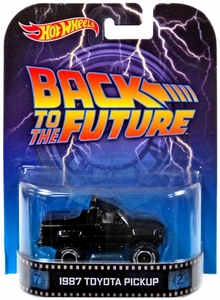 Hot Wheels Retro Back to the Future 1:55 Die Cast Car 1987 Toyota Pickup