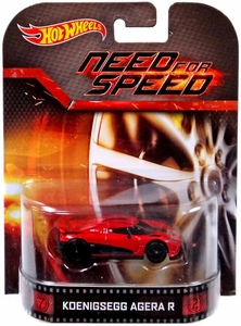 Hot Wheels Retro Need for Speed 1:55 Die Cast Car Koenigsegg Agera R
