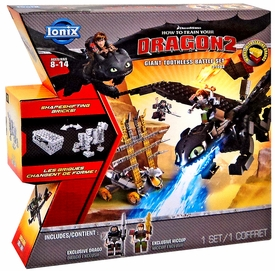 How to Train Your Dragon 2 Ionix #21003 Giant Toothless Battle Set