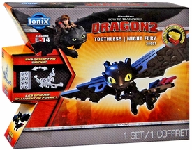 How to Train Your Dragon 2 Ionix Mini Figure 20001 Toothless Nightfury