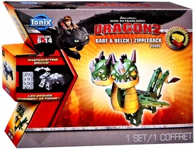 How to Train Your Dragon 2 Ionix Mini Figure #20005 Barf & Belch Zippleback Pre-Order ships July