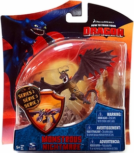 How to Train Your Dragon Movie 4 Inch Series 3 Action Figure Monstrous Nightmare [Purple]