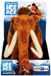 Ice Age Continental Drift Movie Plush Diego New!
